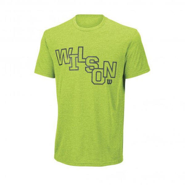 Wilson M STACKED TECH TEE